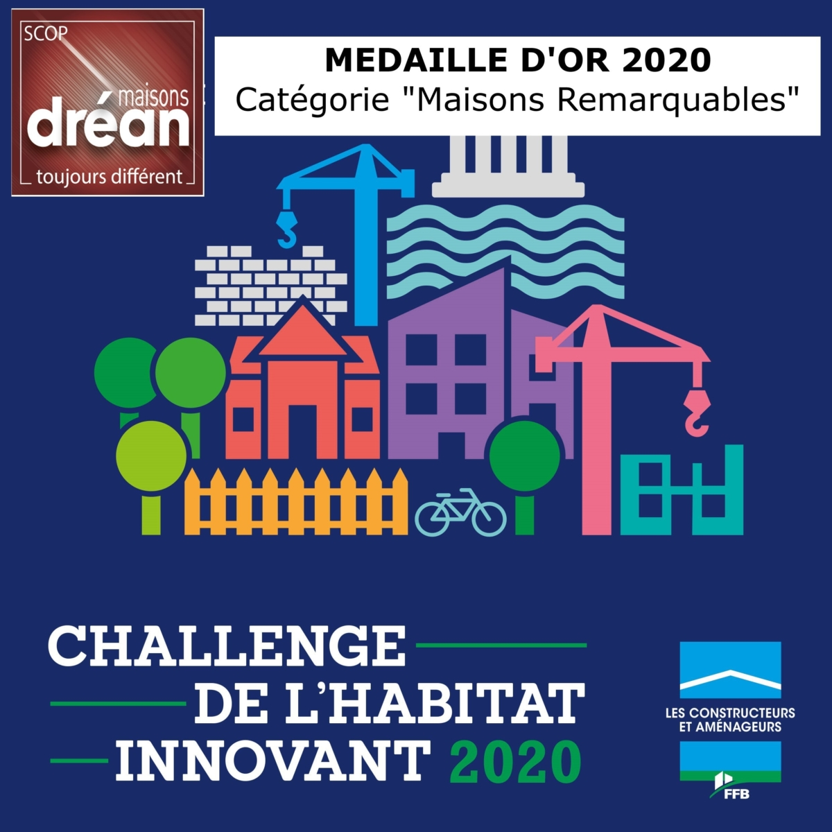 , Challenge national 2020 de la Fédération Nationale du Batiment